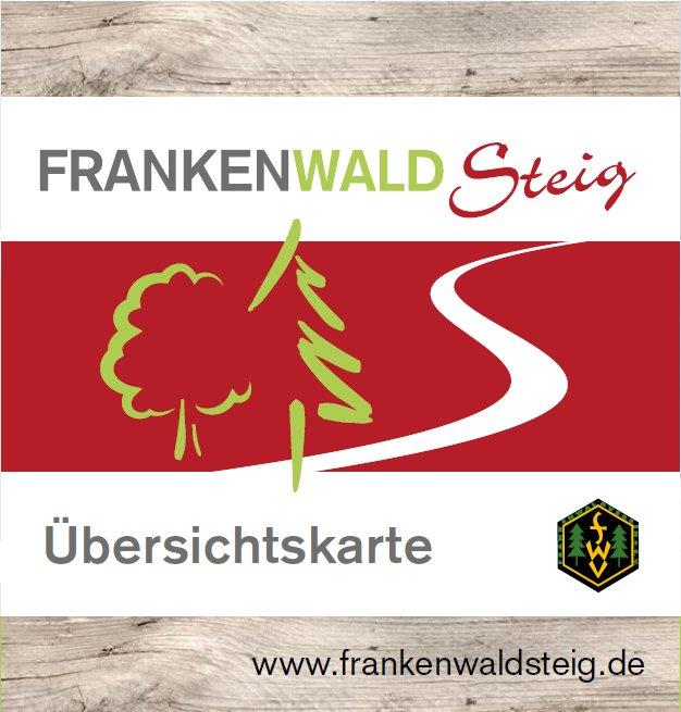 Minifaltplan FrankenwaldSteig