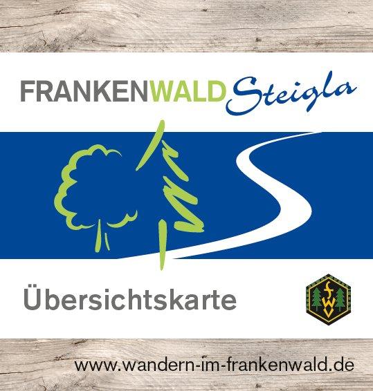 Minifaltplan FrankenwaldSteigla