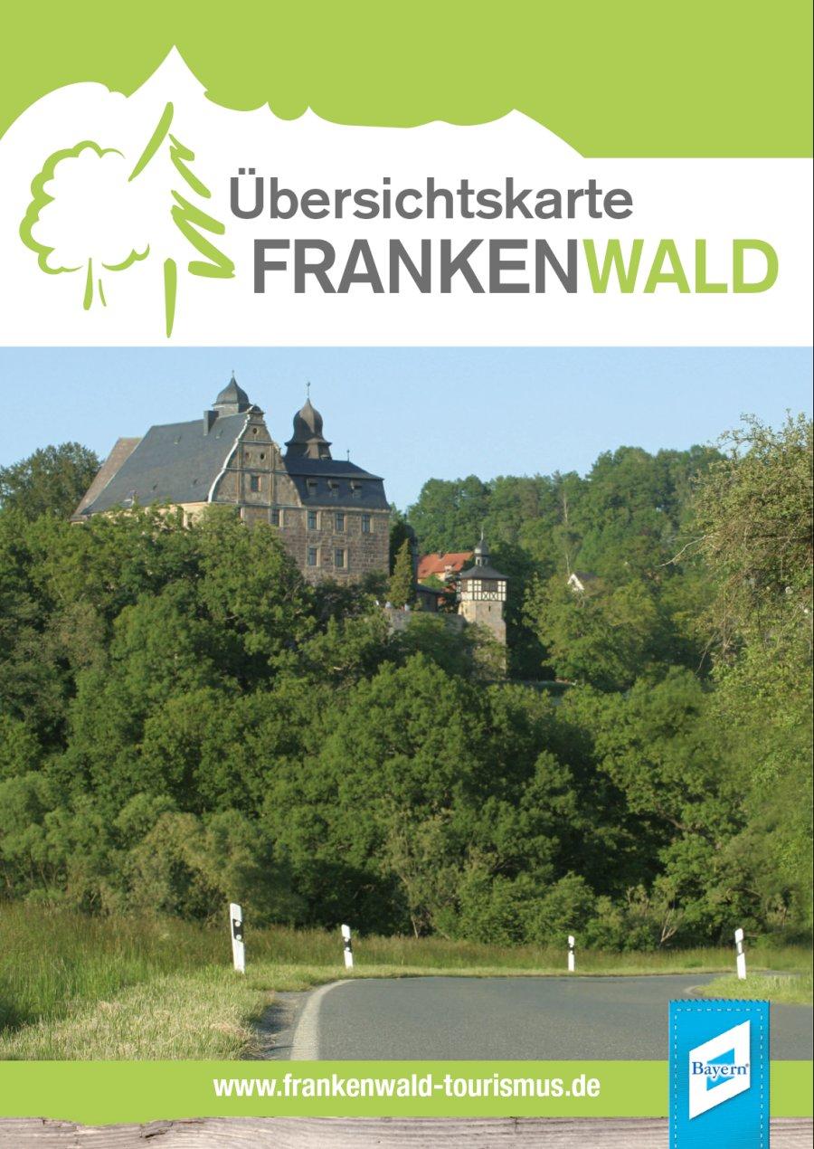 Übersichtskarte Frankenwald