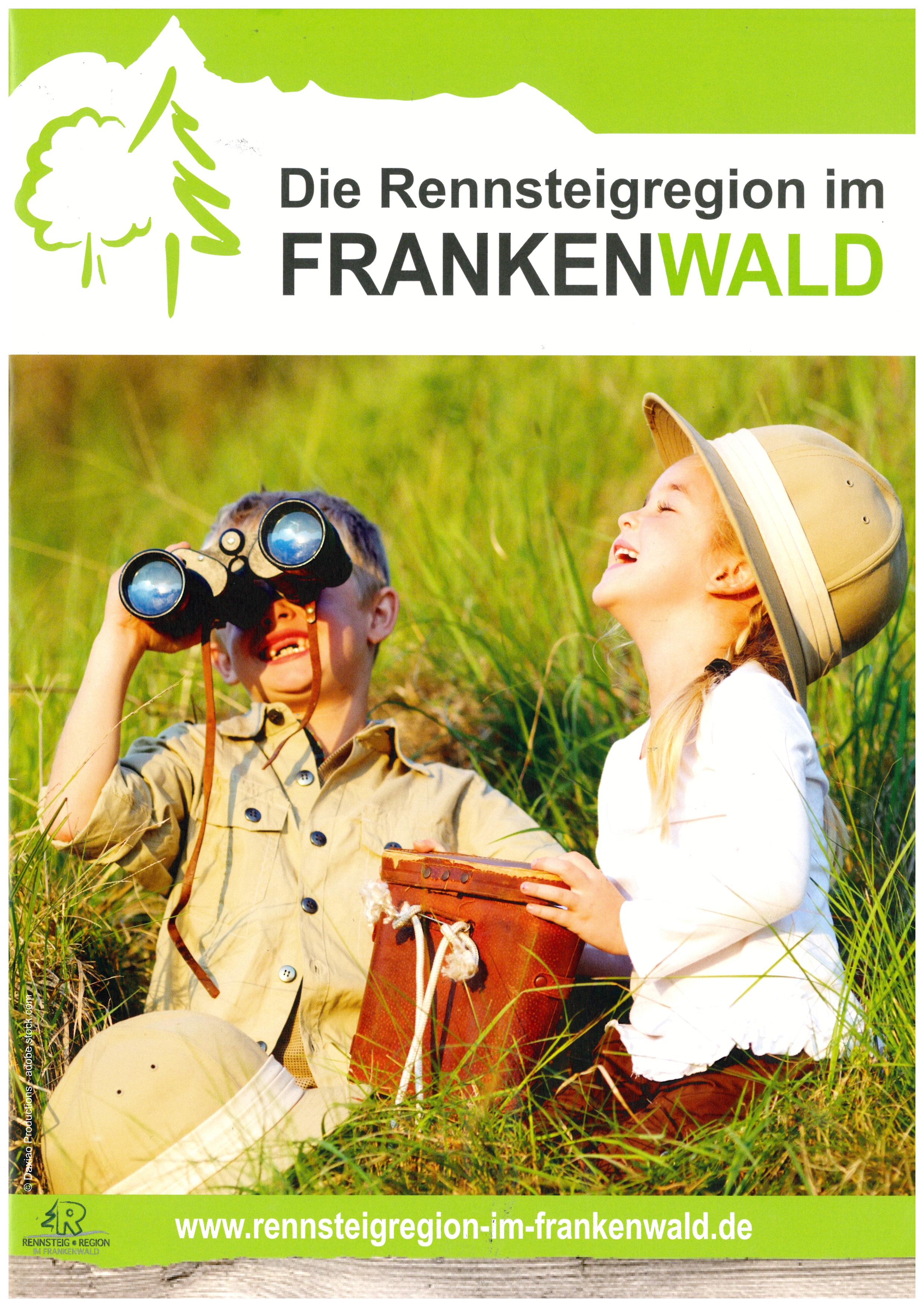 Urlaubskatalog Rennsteigregion im Frankenwald